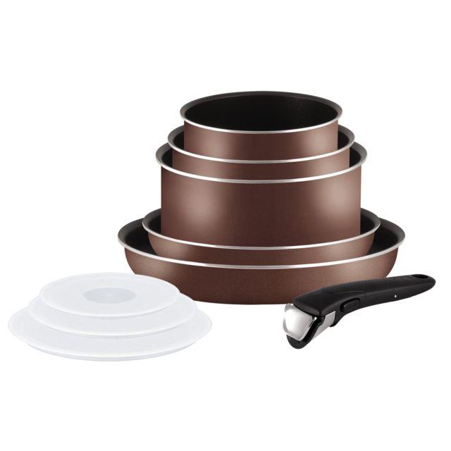 TEFAL INGENIO - Set 9 pièces Ingenio Brownie - L0358902