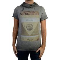 Deeluxe - Tee Shirt Newflood S17155 Grey
