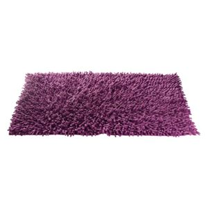 tapis chenille aubergine nc pas cher achat vente tapis de bain rueducommerce. Black Bedroom Furniture Sets. Home Design Ideas