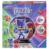 RAVENSBURGER - Puzzle 3D Ball Pyjamasques 72p - 11781