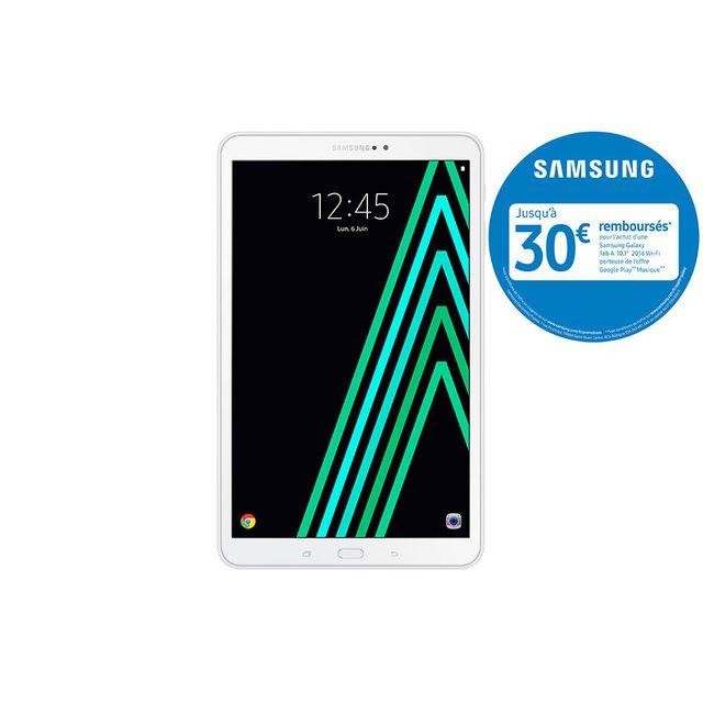 Samsung - Galaxy Tab A6 - SM-T580NZWAXEF - Wifi - Blanc