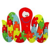 Sapin Malin - Puzzle pieuvre 3d alphabetique