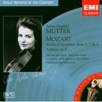 Emi Mktg - Mozart - Concertos Pour Violon N° 1, 2, 4 COLL. Great Artists Of The Century Cd