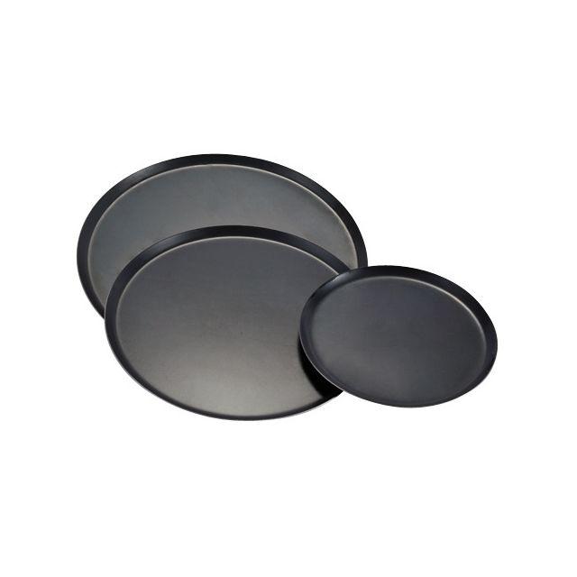 Guery Plaque cuisson ronde tôle bleue 20 cm