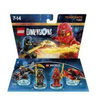 Warner Bros. Entertainment France - Figurine Lego Dimensions - Kai et Cole - Lego Ninjago