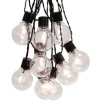 Star Trading - Party Light - Guirlande Led d'extérieur Noir 16 Ampoules L9,5m - Luminaire d'extérieur Best Season designé par