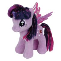 Speckles Beanie Boo - Peluche My Little Poney Large : Twilight Sparkle