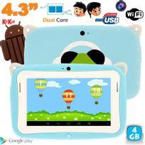 Yonis - Tablette tactile enfant YoKid Mini 4.3 pouces Android 4.4 Bleu 4Go