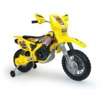 KID'ZZZ N' QUAD'ZZZ - Moto électrique Enfant 12V Injusa 6811 Jaune