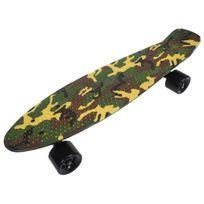 Urban - Skateboard Sk8 vintage22 5po camo Vert 12282