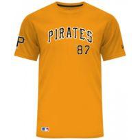 4e5203295e960 New Era - T-shirt Mlb Pittsburgh Pirates Script Jaune pour Homme Taille - M