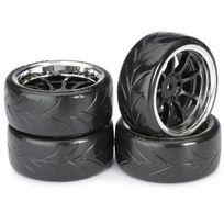 Absima - 4 roues Drift Av/ARR chrome 1/10 2510044