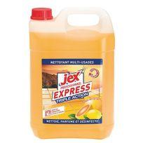 Jex - Nettoyant désinfectant Express pamplemousse - Bidon de 5 litres
