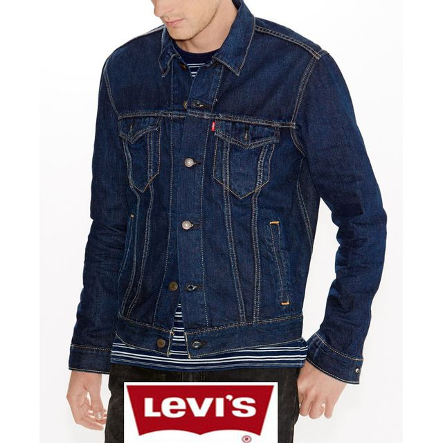 Levi'S - Blouson jean Levis Trucker Conifer