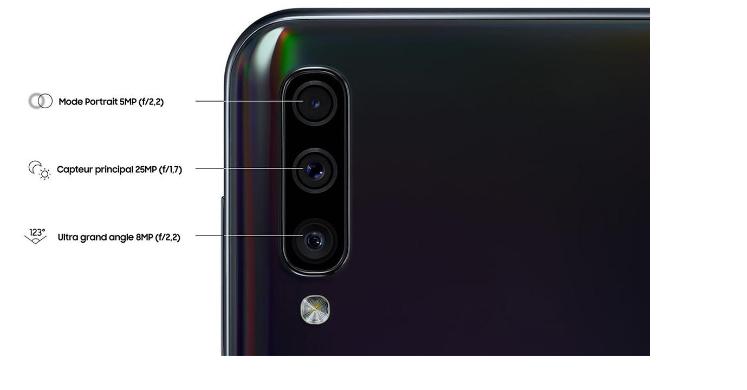 Galaxy A50 - 128 Go - Bleu