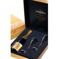Champagne Canard-duchene - Coffret Cuvee Leonie 1 Bouteille 2 flutes