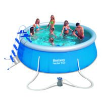 Design et Prix - Magnifique Kit piscine autoportante Best Way Fast Set Pool 457x122 cm
