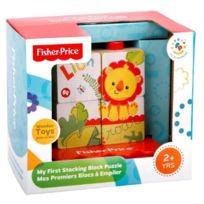 Fisher Price - Mon premier puzzle de cubes à empiler