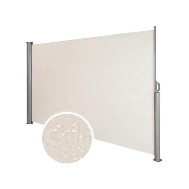 Helloshop26 - Auvent Store Latu00e9ral Brise-vue Abri Soleil Aluminium Ru00e9tractable 180 X 300 Cm ...