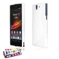 """Muzzano - Coque """"Le S"""" Sony Xperia Z Blanc"""
