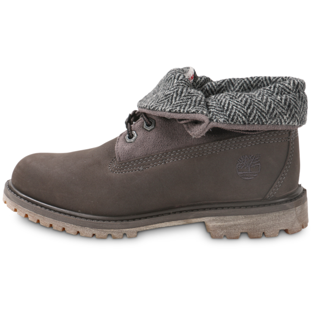 62c48b3fe7f Timberland - 6-inch Roll-top Grise - Boots Femme - pas cher Achat ...