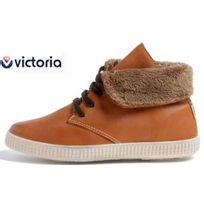 Victoria - chaussures safari cuir fourr?e cuero fauve