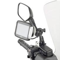 Givi - support universel Sttr40 pour Gps Tom Tom Rider 40 400 moto scooter vélo fixation au guidon ou rétroviseur
