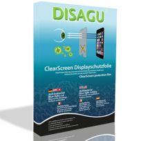 Disagu - Htc 7 Trophy Film de protection d'écran - 4x ClearScreen pour Htc 7 Trophy antibactérien, filtre lumière bleue