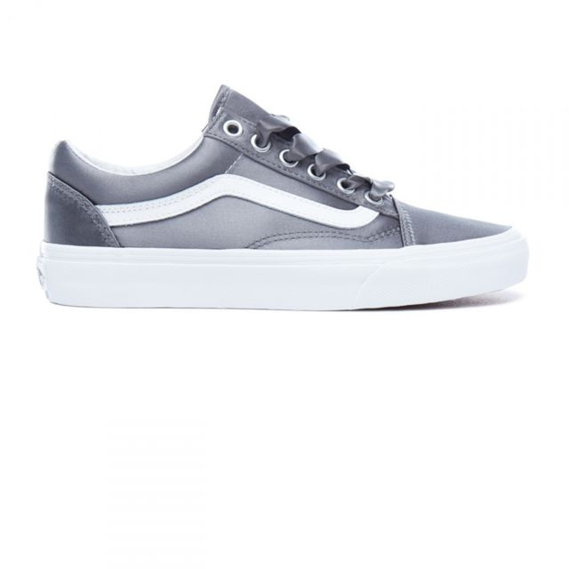 05b60bc1f7a Vans - Chaussures Ua Old Skool Satin Anthracite W - pas cher Achat   Vente  Baskets femme - RueDuCommerce