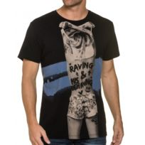 Religion clothing - Tee Shirt Col Rond Noir