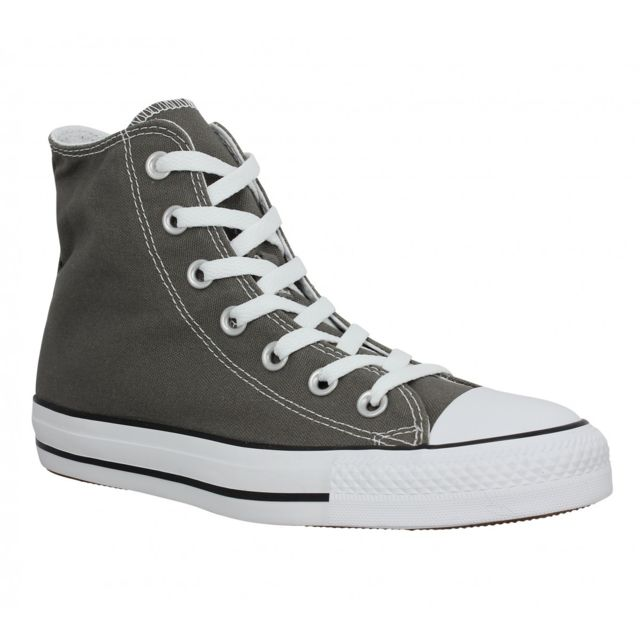 Chuck Taylor All Star Hi toile Femme-39-Anthracite