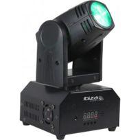 Ibiza Light - Lmh250-RC - Lyre Beam A Led Rvbb 10W Dmx Avec Telecommande