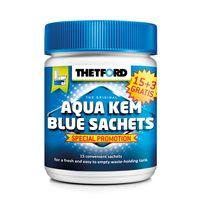 Thetford - Aqua-Kem bleu sachets Boîte rigide x 18 15 + 3