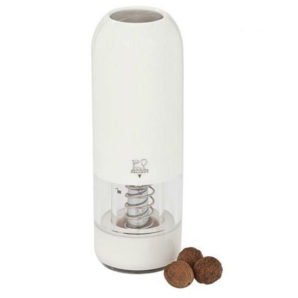 PEUGEOT moulin electrique muscade 16cm blanc - 28589