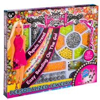 Provence Outillage - Coffret perles fantaisies couleur Orange