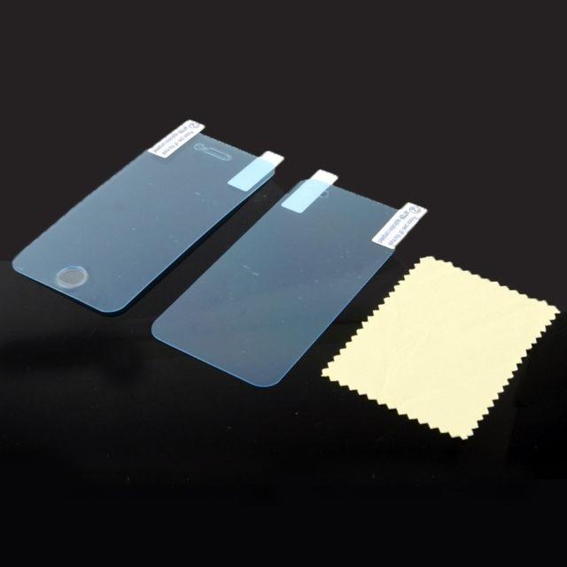Wewoo - Film protection écran pour iPhone 4 et 4S anti-choc / absorption des chocs avant + couvercle arrière