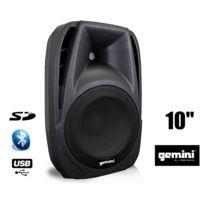 Gemini - Es10BLU Enceinte active Noir Boomer 10