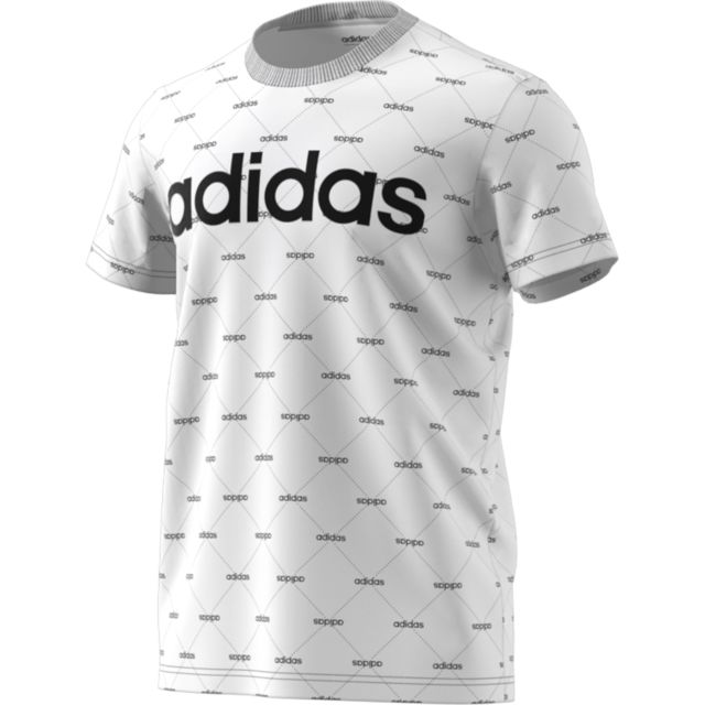 Adidas - T-shirt Linear Graphic - pas cher