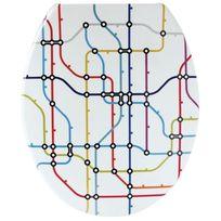 Gelco - Abattant original plan métro