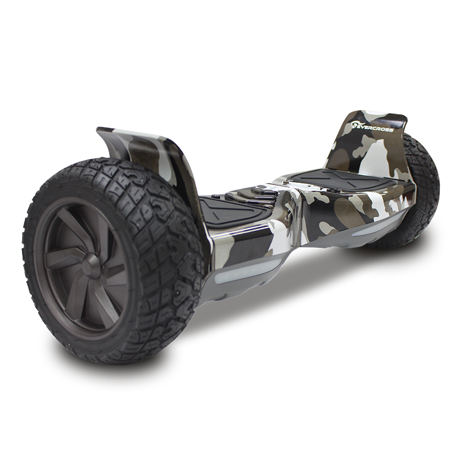 CHALLENGER BASIC HOVERBOARD, GYROPODE HUMMER TOUT TERRAIN 8.5 POUCES Camouflage Militaire