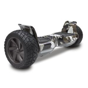 EVERCROSS - CHALLENGER BASIC HOVERBOARD, GYROPODE HUMMER TOUT TERRAIN 8.5 POUCES Camouflage Militaire