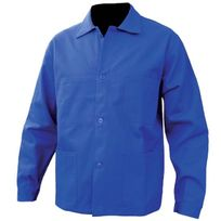 Security - Veste travail à boutons - Bleu