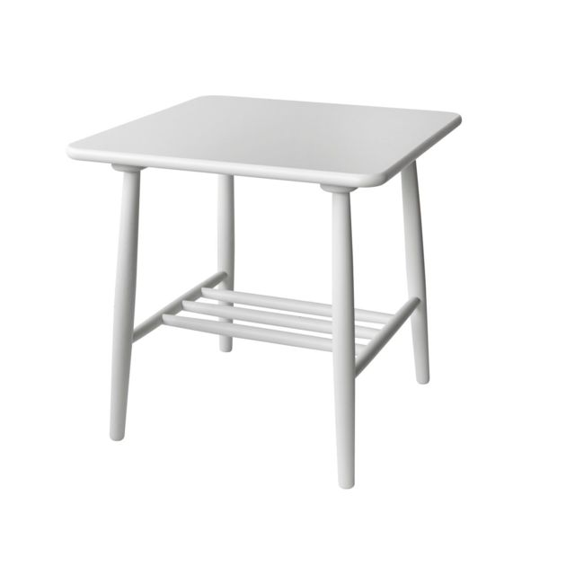 Table basse D20 - 55 cm - blanc