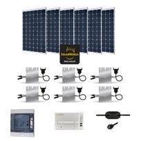 Myshop-solaire - Kit solaire 1800w autoconsommation enphase - plug & play