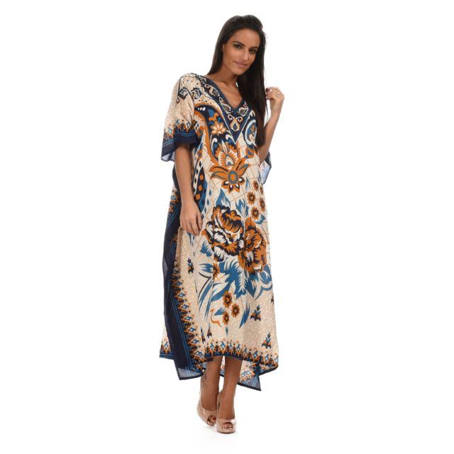 26a894771d9 Kushi - Robe longue Bella - pas cher Achat   Vente Robes - RueDuCommerce
