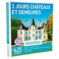 Smartbox - 3 jours - Châteaux et demeures - À choisir parmi 425 séjours partout en France : châteaux, belles demeures, manoirs et hôtels de charme - Coffret Cadeau