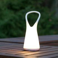 Faro - Lampe baladeuse Led extérieure en plastique blanc hauteur 25.2cm Boo