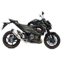 Leovince - Silencieux Lv One Homologue Evo Ii Position Origine - Acier Inox - Kawasaki - Z 800 I.E. 2013