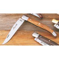Jean Dubost - Couteau de poche Laguiole manche en olivier