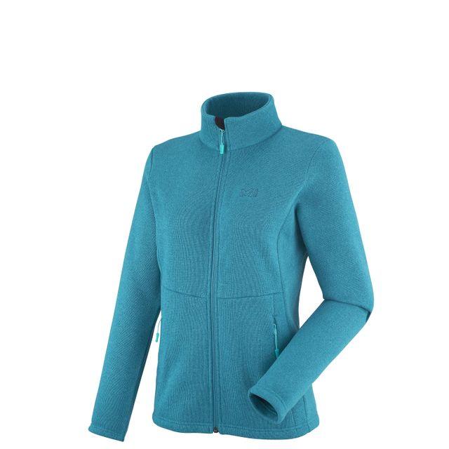 6c3104b833e34 Millet - Veste Ld Hickory Ii Bleu Femme - pas cher Achat   Vente Blousons,  vestes - RueDuCommerce